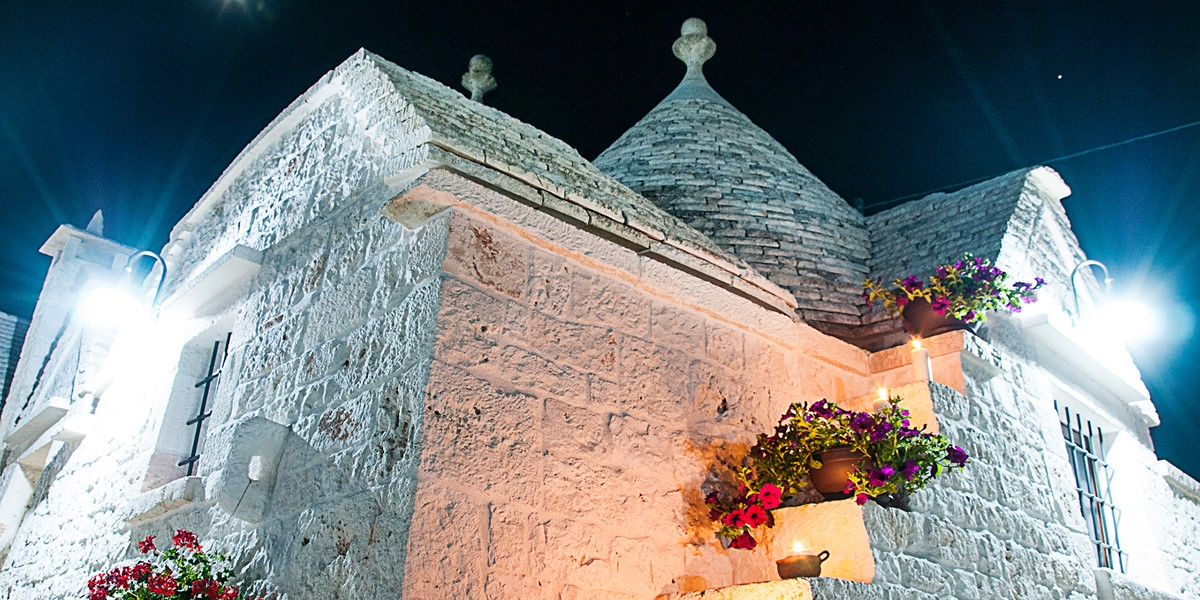 Trullo Noce At Night