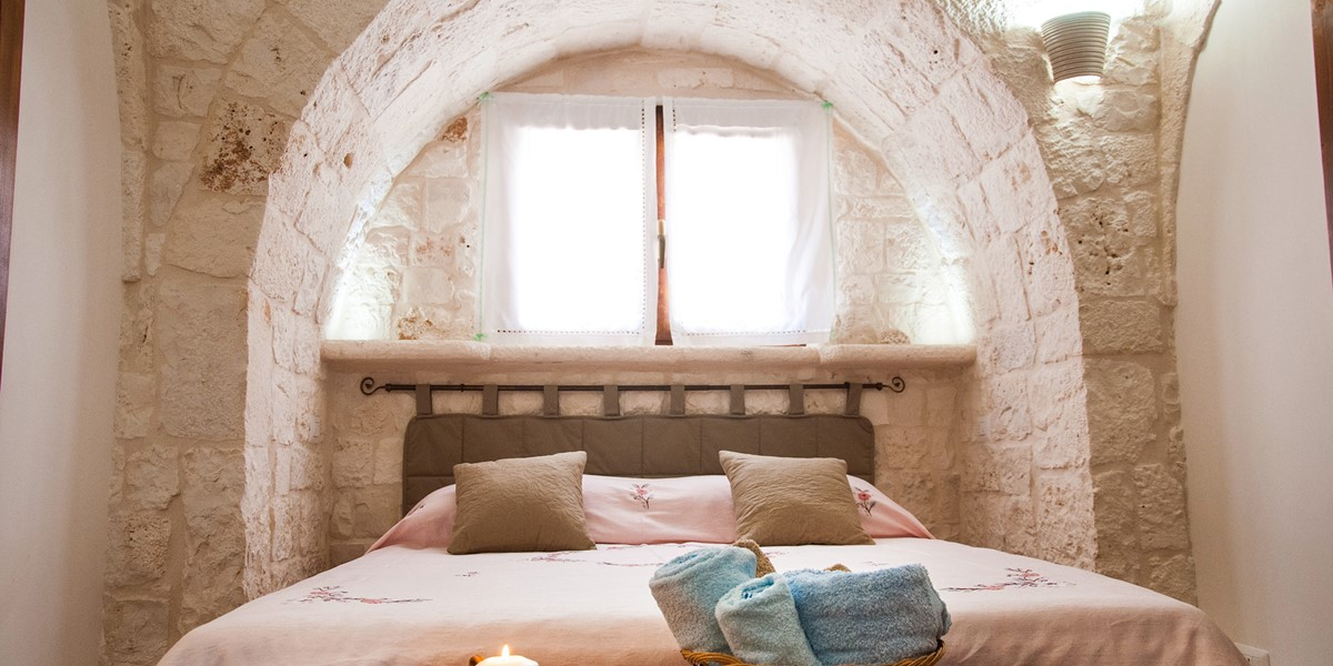 Trullo Noce Master Bedroom