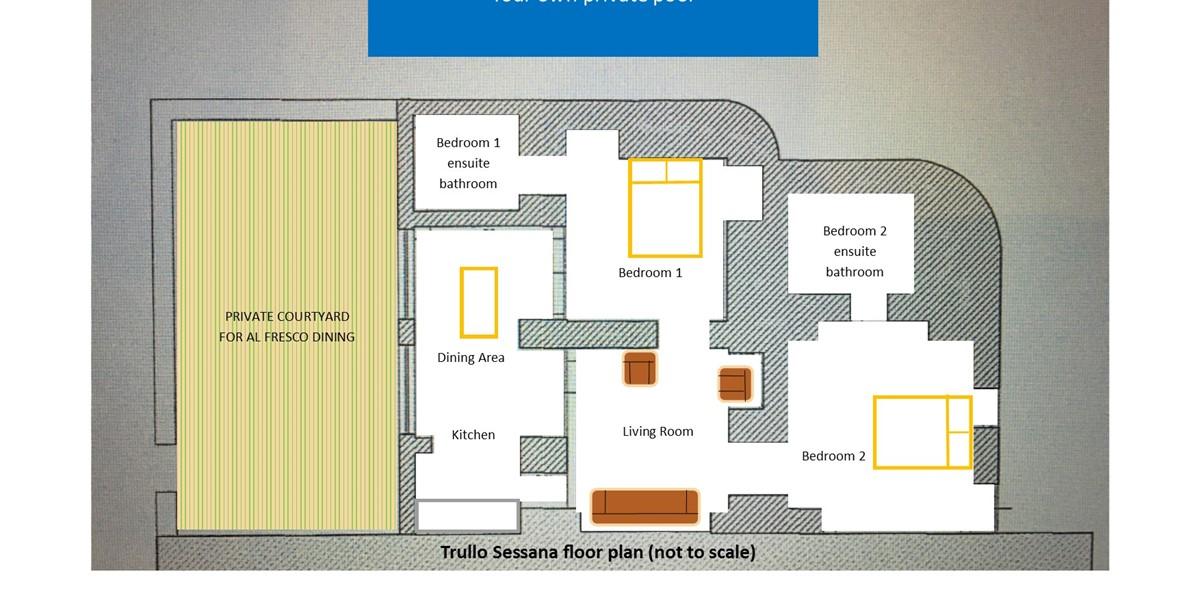 Trullo Sessana Floor Plan