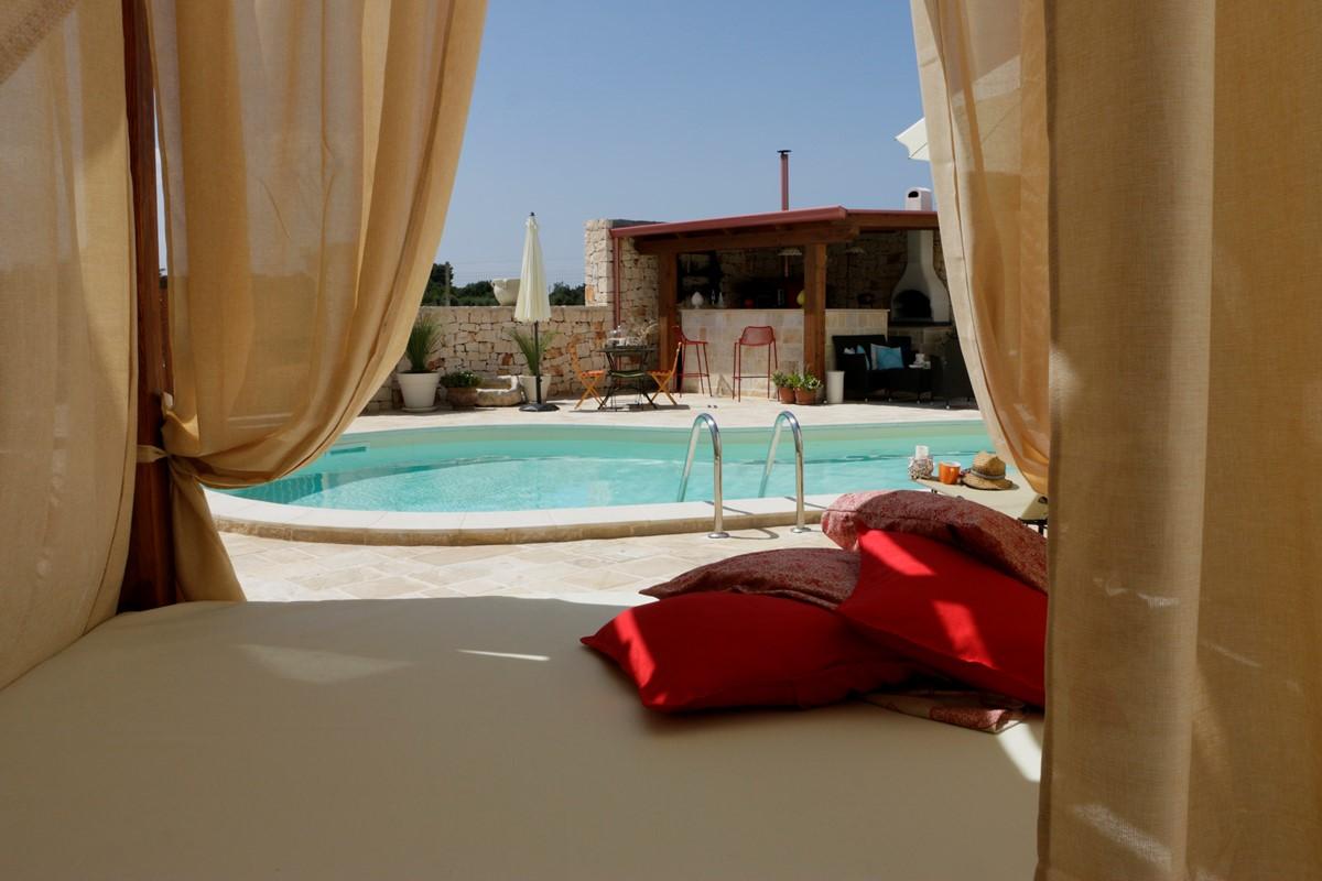 Casa Di Sole View From Sun Bed